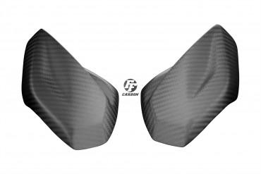 Carbon Frontverkleidung Seitenteile für Aprilia Tuono V4 1100 RR / Factory 2015- 100% Carbon Köper Matt 100% Carbon | Köper | Matt