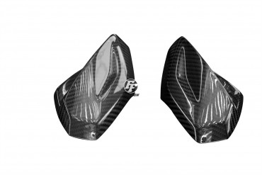 Carbon Frontverkleidung Seitenteile für Aprilia Tuono V4 1100 RR / Factory 2015- 100% Carbon Köper Glossy 100% Carbon | Köper | Glossy