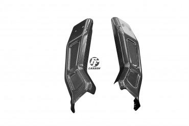 Carbon Frontverkleidung Seitenteile für Yamaha MT-10 Carbon+Fiberglas Leinwand Matt Carbon+Fiberglas | Leinwand | Matt