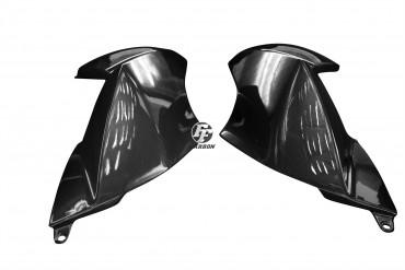 Carbon Seitenverkleidung für Aprilia Dorsoduro 1200 Carbon+Fiberglas Leinwand Glossy Carbon+Fiberglas | Leinwand | Glossy