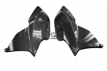 Carbon Seitenverkleidung für Aprilia Dorsoduro 750 100% Carbon Leinwand Glossy 100% Carbon | Leinwand | Glossy