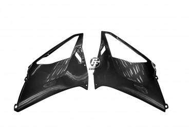 Carbon Seitenverkleidung für Aprilia RSV 1000R 2004-2009 Carbon+Fiberglas Köper Glossy Carbon+Fiberglas | Köper | Glossy