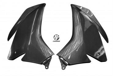 Carbon Seitenverkleidung für Aprilia RSV 4 Carbon+Fiberglas Köper Glossy Carbon+Fiberglas | Köper | Glossy