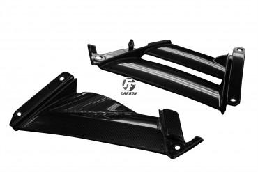 Carbon Seitenverkleidung für Aprilia RSV 4 RR/RF 2015- Carbon+Fiberglas Leinwand Glossy Carbon+Fiberglas | Leinwand | Glossy