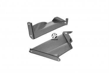 Carbon Seitenverkleidung für Aprilia RSV 4 RR/RF 2015- Carbon+Fiberglas Köper Matt Carbon+Fiberglas | Köper | Matt