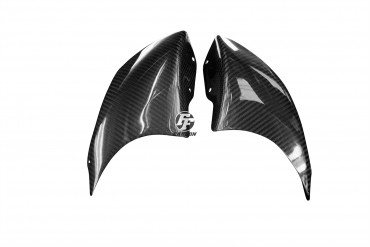 Carbon Frontverkleidung Seitenteile für Aprilia RSV Mille 1998-2003 100% Carbon Köper Glossy 100% Carbon | Köper | Glossy