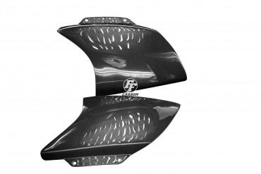 Carbon Frontverkleidung Seitenteile für Aprilia RSV Mille 1998-2003 Carbon+Fiberglas Leinwand Glossy Carbon+Fiberglas | Leinwand | Glossy