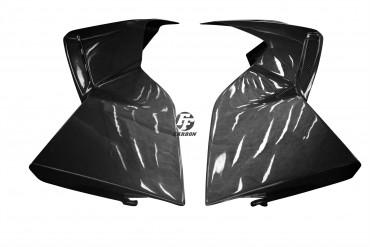 Carbon Seitenverkleidung für BMW K1300R 100% Carbon Leinwand Glossy 100% Carbon | Leinwand | Glossy