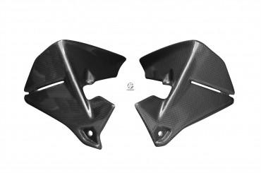 Carbon Cockpitverkleidung Seitenteile für BMW R1200 GS 2013-2016 Carbon+Fiberglas Leinwand Matt Carbon+Fiberglas | Leinwand | Matt