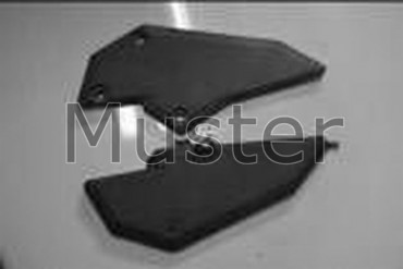Carbon Seitenverkleidung für Kawasaki Ninja 300 2013-2015