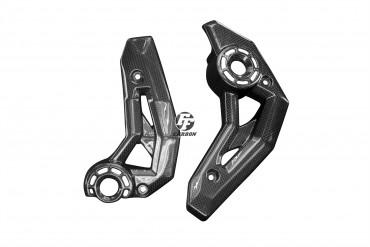 Carbon Seitenverkleidung für Kawasaki Z650 / Ninja 650 Carbon+Fiberglas Leinwand Glossy Carbon+Fiberglas | Leinwand | Glossy