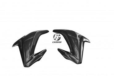 Carbon Seitenverkleidung für Kawasaki Z900 2017-2019 Carbon+Fiberglas Leinwand Glossy Carbon+Fiberglas | Leinwand | Glossy