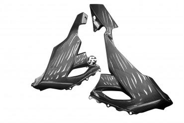 Carbon Seitenverkleidung für Kawasaki ZX 10R 2008-2009