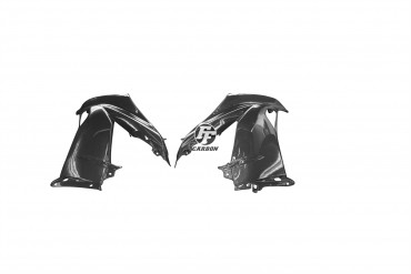 Carbon Seitenverkleidung für Kawasaki ZX6R 2013-