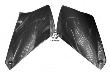 Carbon Seitenverkleidung für KTM 990 Super Duke 2007 -2012 Carbon+Fiberglas Leinwand Glossy Carbon+Fiberglas | Leinwand | Glossy