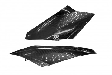 Carbon Seitenverkleidung für KTM 990 Super Duke 2007 -2012 Carbon+Fiberglas Köper Glossy Carbon+Fiberglas | Köper | Glossy