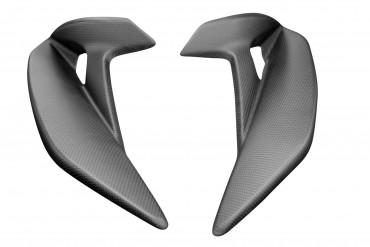 Carbon Seitenverkleidung für MV Agusta Brutale 800 2016- Carbon+Fiberglas Leinwand Matt Carbon+Fiberglas | Leinwand | Matt