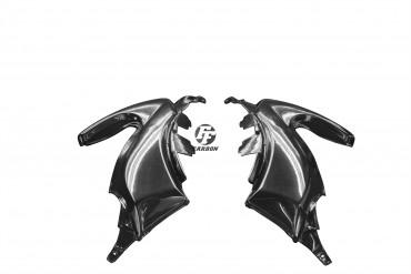 Carbon Seitenverkleidung für Yamaha Tmax 530