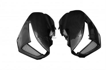 Carbon Seitenverkleidung mit Blinkeraussparung für Suzuki B-King 1300 2007-2011