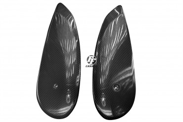 Carbon Seitenverkleidung Tank für Ducati Scrambler Carbon+Fiberglas Köper Glossy Carbon+Fiberglas | Köper | Glossy