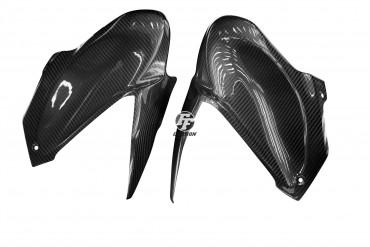 Carbon Tankverkleidung Seitenteile für Kawasaki Z900