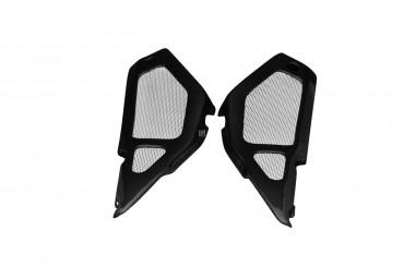Carbon Seitenverkleidung unter Sitz für Aprilia RSV Mille Tuono 2003-2005 Carbon+Fiberglas Leinwand Glossy Carbon+Fiberglas | Leinwand | Glossy