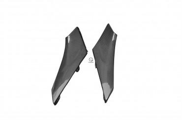 Carbon Seitenverkleidung unter Sitz für BMW R1200S Carbon+Fiberglas Leinwand Glossy Carbon+Fiberglas | Leinwand | Glossy