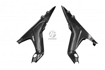 Carbon Seitenverkleidung unter Sitz für Ducati Panigale V4
