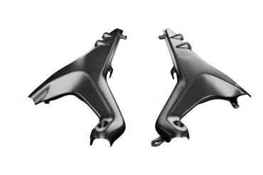 Carbon Seitenverkleidung unter Sitz für Ducati Streetfighter V4 2020-