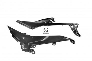 Carbon Seitenverkleidung unter Sitz für Kawasaki Ninja 650