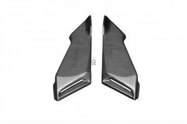 Carbon Side Panels below Seat for MV Agusta Brutale 750 / 910 / 989R / 1078RR