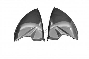 Carbon Seitenverkleidung unter Sitz für MV Agusta Rivale 800