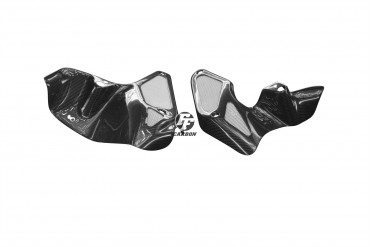 Carbon Seitenverkleidung unter Tank für Aprilia RSV Tuono 2003-2005 Carbon+Fiberglas Köper Glossy Carbon+Fiberglas | Köper | Glossy