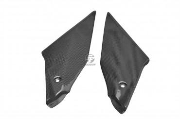 Carbon Seitenverkleidung unter Tank für Yamaha R1 ab 2015 Carbon+Fiberglas Leinwand Glossy Carbon+Fiberglas | Leinwand | Glossy