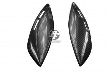Carbon Seitenverkleidung unter Tank zum Kleben für Kawasaki Z900 RS