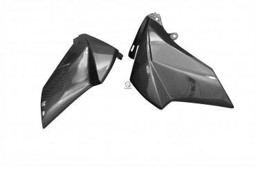Carbon Tankverkleidung Seitenteile für Kawasaki Z800