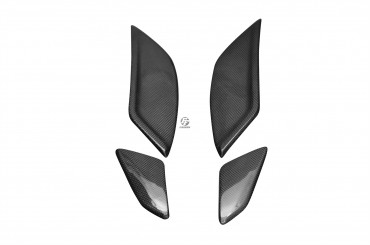 Carbon seitliche Tankverkleidung und Rahmenverkleidung (4er Set) für Yamaha FZ1