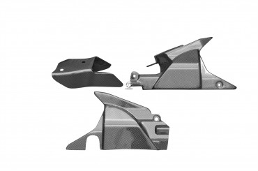 Carbon Seitliche Verkleidung (3 Teile) für Honda VFR 800 V-TEC 2002-2013 Carbon+Fiberglas Leinwand Glossy Carbon+Fiberglas | Leinwand | Glossy