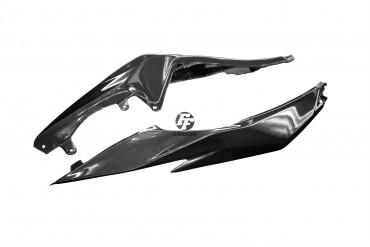 Carbon Sitz Abdeckung Seitenteile für Kawasaki ZX6R 2013-
