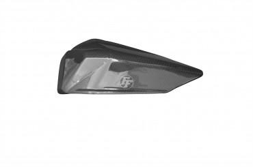 Carbon Soziussitz Abdeckung für Ducati Panigale 899 / 1199 Carbon+Fiberglas Leinwand Glossy Carbon+Fiberglas | Leinwand | Glossy