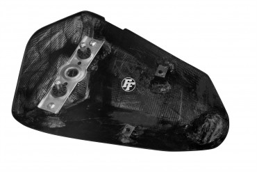 Carbon Soziussitz Abdeckung für Kawasaki ZX-6R 2009-2012