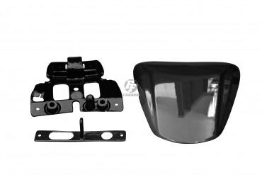 Carbon Soziussitz Abdeckung für Suzuki GSX-S 1000 Carbon+Fiberglas Leinwand Glossy Carbon+Fiberglas | Leinwand | Glossy