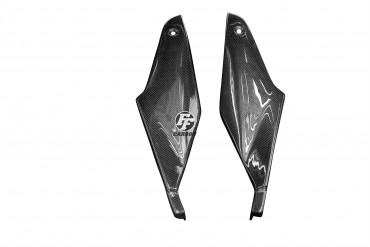Carbon Tankverkleidung Seitenteile für Aprilia RSV 1000R 2004-2009 Carbon+Fiberglas Leinwand Glossy Carbon+Fiberglas | Leinwand | Glossy