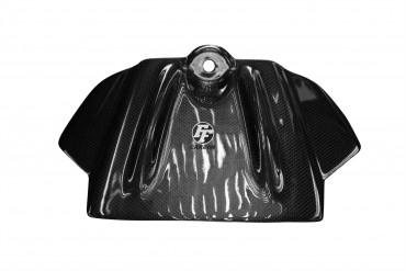 Carbon Tank Cover für Aprilia RSV4 2009-2012 / Tuono V4 2011 Carbon+Fiberglas Leinwand Glossy Carbon+Fiberglas | Leinwand | Glossy