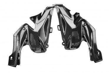 Carbon Tankverkleidung Seitenteile für Kawasaki Z900 2020-