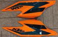 Carbon Tankverkleidung Seitenteile für KTM 1290 Super Duke R 2020-