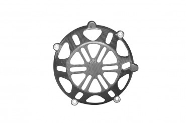 Carbon Trockenkupplung Cover für Ducati (luftgekühlte 4 Ventil Motoren)