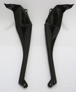Carbon Untere Seitenverkleidung für Kawasaki ZX-10R 2010
