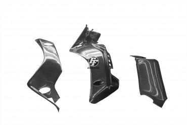Carbon Untere Rahmenverkleidung für Yamaha R1 ab 2015 Carbon+Fiberglas Leinwand Glossy Carbon+Fiberglas | Leinwand | Glossy