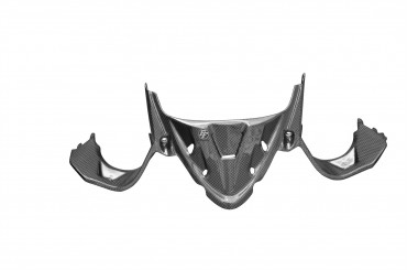Carbon Scheinwerfer Verkleidung Unten für Ducati Panigale 899 / 1199